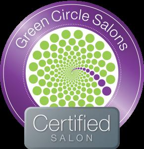 Infinite Salon is Green Circle Salons Certified